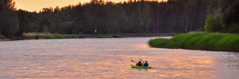 Leiputrija – Carnikava / Baltic sea (Gauja, 1 day)