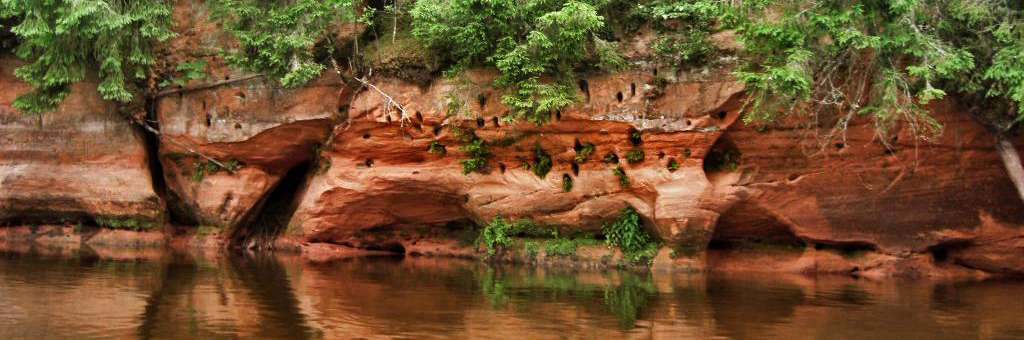 Tours on Salaca river (2-3 days)